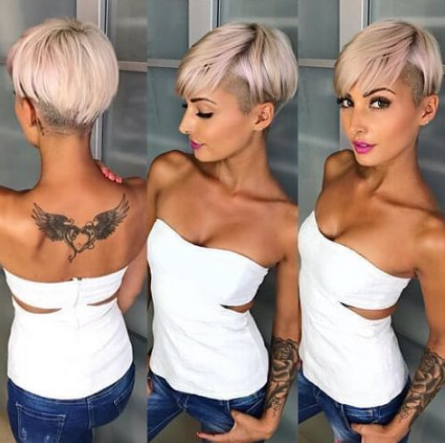 50 Trendy Ways To Wear Pixie Cut With Long Bangs Hair Motive With Regard To Sexy Long Pixie Hairstyles With Babylights (View 11 of 25)