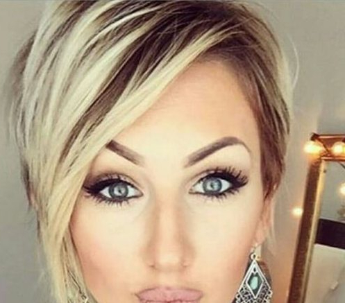 50 Trendy Ways To Wear Pixie Cut With Long Bangs Hair Motive With Sexy Long Pixie Hairstyles With Babylights (View 16 of 25)