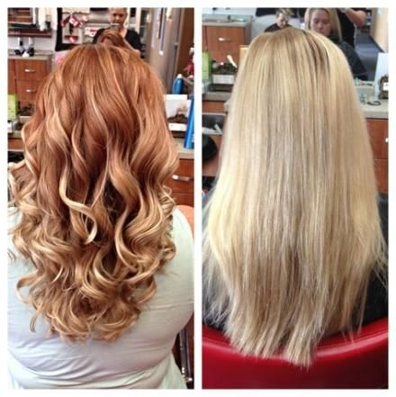 54+ New Ideas Hair Color Red Tint Blondes #Hair | Hair Within Strawberry Blonde Balayage Hairstyles (View 7 of 25)