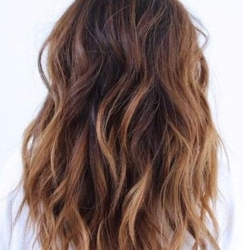 55 Sensational To Wear Balayage Hair For All Hair Colors With Regard To Cinnamon Balayage Bob Hairstyles (View 9 of 25)