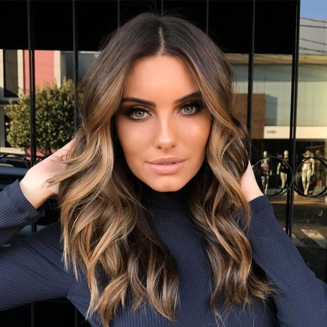 62 New Ideas Hair Color Ideas For Brunettes For Winter Pertaining To Short Bob Hairstyles With Balayage Ombre (View 18 of 25)
