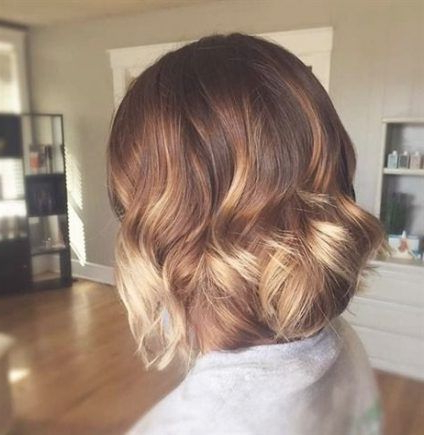 Featured Photo of Short Bob Hairstyles With Balayage Ombre