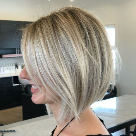70 Best A Line Bob Hairstyles Screaming With Class And In Cinnamon Balayage Bob Hairstyles (View 22 of 25)