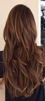 70 Trendy Chocolate Brown Hair With Layers Low Lights Inside Short Brown Hairstyles With Subtle Highlights (View 2 of 25)