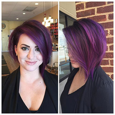 8 Undercut Bob Haircut Pictures | Bob Hairstyles 2018 In Half Bob Half Pixie Hairstyles With Cool Blonde Balayage (View 5 of 25)