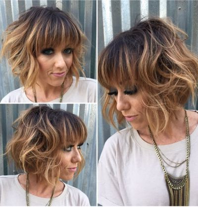 83 Latest Layered Hairstyles For Short, Medium And Long Hair In Blonde Balayage Hairstyles On Short Hair (View 17 of 25)