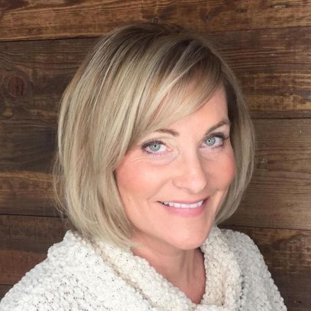 90 Classy And Simple Short Hairstyles For Women Over 50 Inside Ash Blonde Balayage For Short Stacked Bob Hairstyles (View 24 of 25)