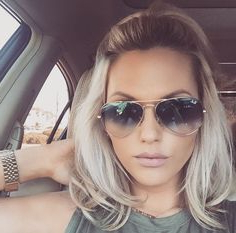 900+ Hair ? Ideas | Hair, Long Hair Styles, Pretty Hairstyles Throughout Half Bob Half Pixie Hairstyles With Cool Blonde Balayage (View 18 of 25)