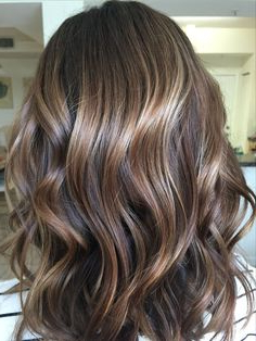 Another View Of This Beautiful Color! Glazed With Equal Throughout Dimensional Dark Roots To Red Ends Balayage Hairstyles (View 24 of 25)