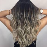 Ash Balayage Inspiration, From Pictures To Products With Regard To Ash Blonde Balayage Ombre On Dark Hairstyles (View 24 of 25)