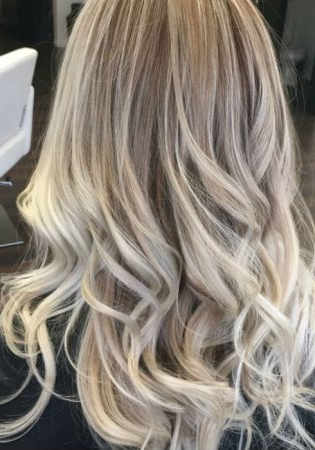 Ash Blonde Balayage And Silver Ombre Hair Color Ideas 2017 In Ash Blonde Balayage Ombre On Dark Hairstyles (View 9 of 25)