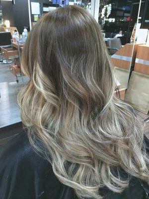 Ash Blonde Balayage   Hair Styles, Ombre Hair, Balayage Hair With Regard To Ash Blonde Balayage Ombre On Dark Hairstyles (View 14 of 25)