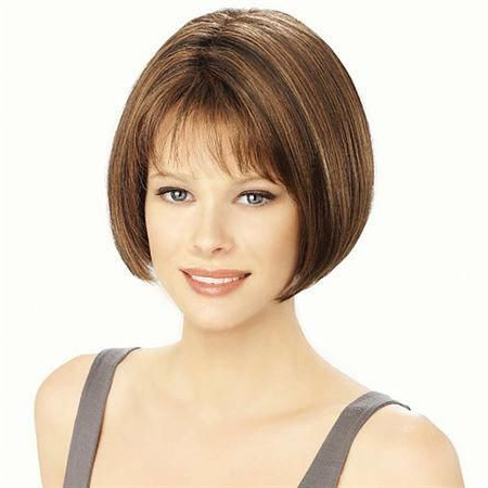 Avec #Wiglouis Ferre Lightly Feathered, Face Framing Intended For Blunt Bob Hairstyles With Face Framing Bangs (View 3 of 25)
