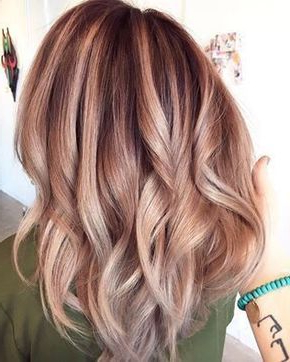 Awesome Subtle Rose Gold Balayage | Hair Styles, Blonde Inside Strawberry Blonde Balayage Hairstyles (View 17 of 25)