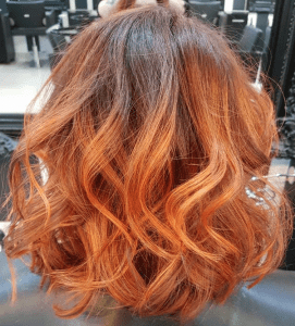 Balayage Experts, Hair Salons, Milton Keynes, Westcroft Inside Dimensional Dark Roots To Red Ends Balayage Hairstyles (View 4 of 25)