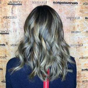 Balayage Hair, Hair Salon In Birmingham For Dimensional Dark Roots To Red Ends Balayage Hairstyles (View 22 of 25)