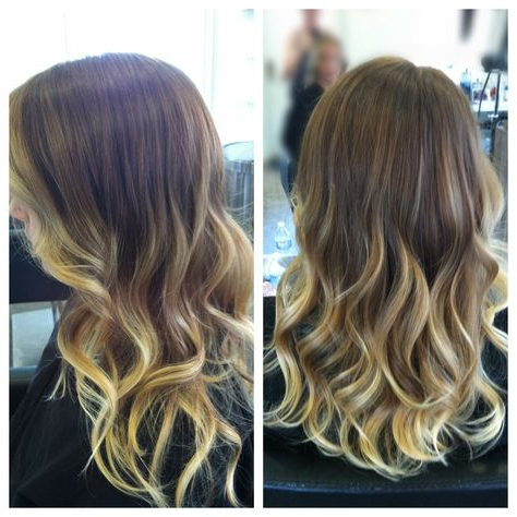 #Balayage #Ombre #Hair #Beachy #Sunkissed | Medium Length For Beachy Waves Hairstyles With Balayage Ombre (View 8 of 25)