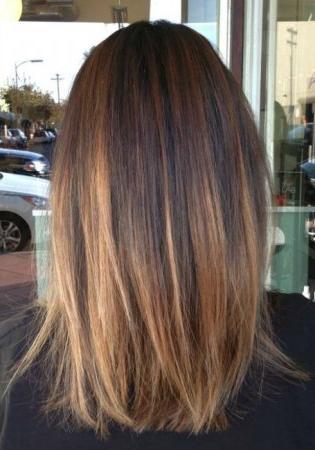 Balayage On Straight Hair | Short, Medium Length, Long Regarding Short Brown Balayage Hairstyles (View 20 of 25)