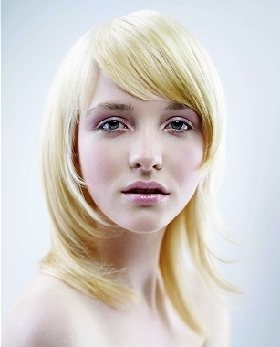 Bangs Hairstyles For Small Foreheads Throughout A Shape Framed Haircuts (View 3 of 25)