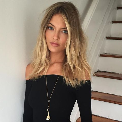 Beach Hair :: Natural Waves :: Long + Blonde :: Summer With Regard To Beachy Waves Hairstyles With Balayage Ombre (View 25 of 25)