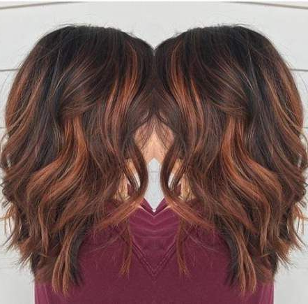 Best Hair Balayage Ginger Haircolor 39+ Ideas | Red Brown Within Subtle Balayage Highlights For Short Hairstyles (View 8 of 25)