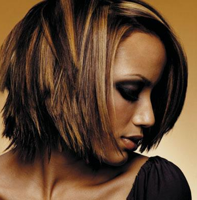 Black Hair Color: African American Hair Dye With Regard To Short Hairstyles With Delicious Brown Coloring (View 2 of 25)