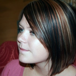 Black Hair With Brown Highlights Pictures Intended For Black Hairstyles With Brown Highlights (View 10 of 25)