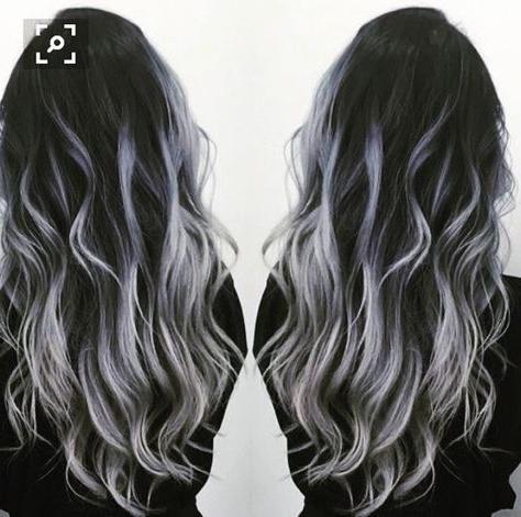 Black To Gray Silver Balayage | Hair Styles, Grey Hair Regarding Natural Looking Dark Blonde Balayage Hairstyles (View 22 of 25)