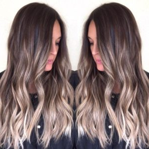 Blonde Balayage Hair Colors With Highlights |Balayage In Short Brown Balayage Hairstyles (View 13 of 25)