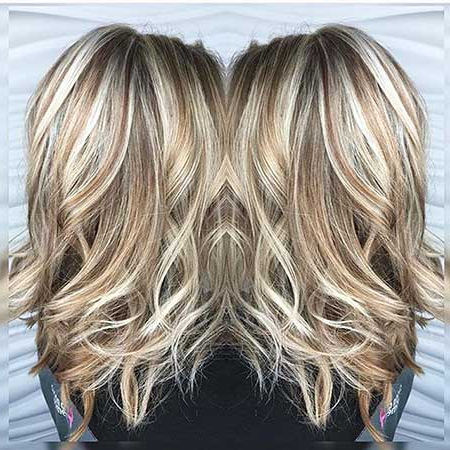 Blonde Hair Color Ideas For Every Length   Hairstyles Intended For Short Brown Hairstyles With Subtle Highlights (View 15 of 25)