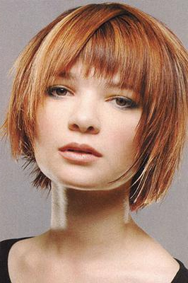 Blonde Highlights To Ashlee Simpson Red Hair Color? Regarding Short Brown Hairstyles With Subtle Highlights (View 24 of 25)