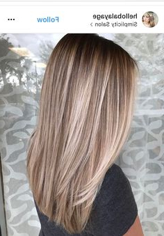 Blonde Lowlights And Highlights Regarding Shaggy Bob Hairstyles With Blonde Balayage (View 12 of 25)