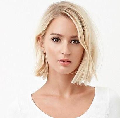 #Blunt #Bob #Hochgesteckt, #Blunt #Bob # Inside Blunt Cut Blonde Balayage Bob Hairstyles (View 17 of 25)
