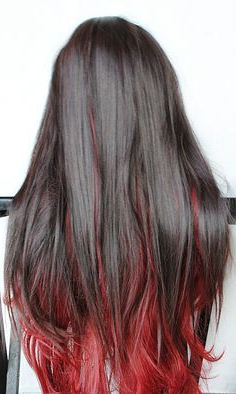 Brown Hair With Red Underlayer – Google Search | Hair In Natural Brown Hairstyles With Barely There Red Highlights (View 6 of 25)