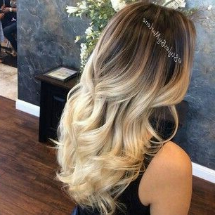Californiana Color Manteca   Ombre Hair Blonde, Hair For Ash Blonde Balayage Ombre On Dark Hairstyles (View 21 of 25)