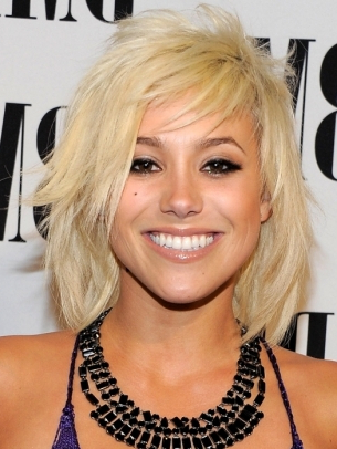 Celebrity Choppy Layered Medium Hairstyles – Musicstore For Side Swept Face Framing Layers Hairstyles (View 7 of 25)