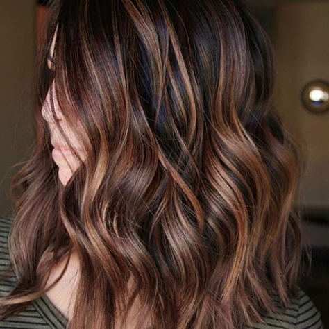 Chestnut Hair Color Ideas That Have Us Ready For Fall In Chestnut Short Hairstyles With Subtle Highlights (View 4 of 25)