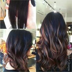 Chinese Balayage Short Hair – Google Zoeken | Deep Auburn Pertaining To Subtle Balayage Highlights For Short Hairstyles (View 10 of 25)