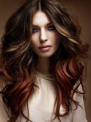Chocolate Brown Hair Color Ideas Throughout Natural Brown Hairstyles With Barely There Red Highlights (View 17 of 25)