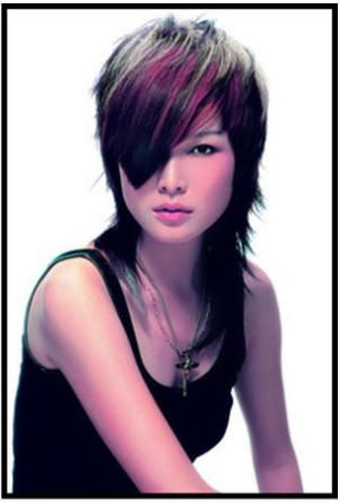 Choppy Bangs And Layered Haircut | Hair Styles, Gorgeous Inside Choppy Layers Hairstyles With Face Framing (View 8 of 25)