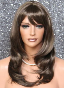 Choppy Layered Gorgeous Straight Face Frame Chestnut Brown Throughout Choppy Layers Hairstyles With Face Framing (View 5 of 25)