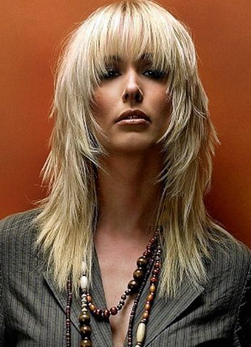 Choppy Layered Hairstyles With Bangs For Long Hair 1 With Choppy Layers Hairstyles With Face Framing (View 14 of 25)