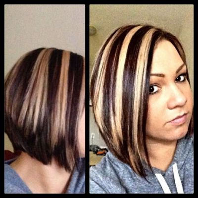 Chunky Highlight/ Lowlight !!!   Short Hair Highlights For Short Brown Hairstyles With Subtle Highlights (View 19 of 25)