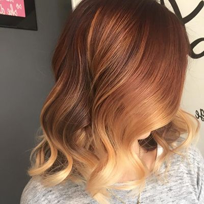 Featured Photo of Brown Blonde Sweeps Of Color Hairstyles