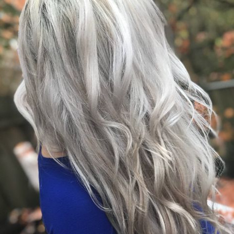 Cool Toned Blonde Hair For Fall/Winter! With Layers Added For Cool Toned Angled Bob Hairstyles (View 20 of 25)
