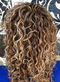 Curly Brown Hair With Blonde Highlights – Google Search With Regard To Natural Looking Dark Blonde Balayage Hairstyles (View 25 of 25)