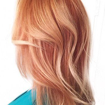 Denessa Sims Hair Photos | Strawberry Hair, Hair Styles Within Strawberry Blonde Balayage Hairstyles (View 10 of 25)