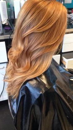 Die 22 Besten Bilder Von Rotblonde Haare | Rotblond Within Marsala To Strawberry Blonde Ombre Hairstyles (View 25 of 25)