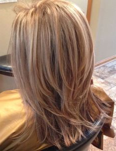 Dimensional Color Ideas For Layered Hairstyles 2018 Regarding Layered Dimensional Hairstyles (View 11 of 25)
