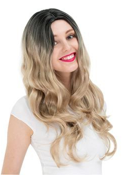 Elegant Women'S Mid Length Wig With Face Framing Layers Of Pertaining To Full Fringe And Face Framing Layers Hairstyles (View 2 of 25)